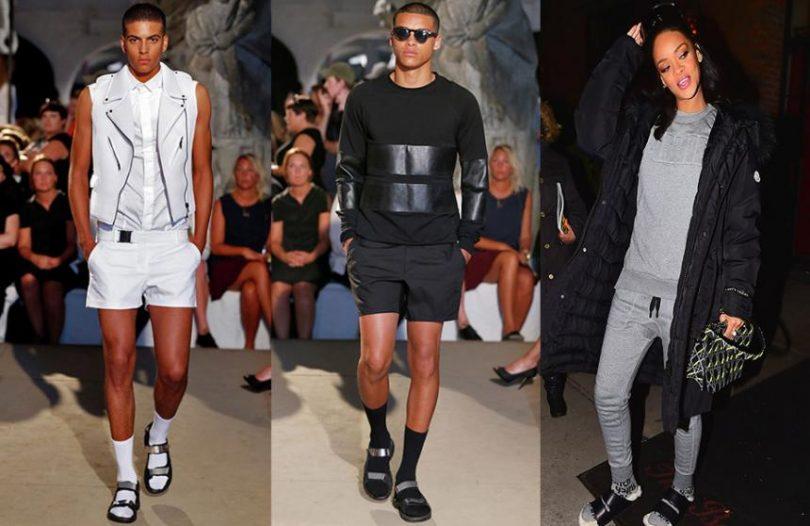 Sandalias con medias lo ltimo en la moda para hombres y for Lo ultimo en moda para hombres