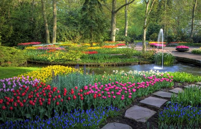 Los jardines mas bellos del mundo pelando el ojo - Jardines de tulipanes en holanda ...