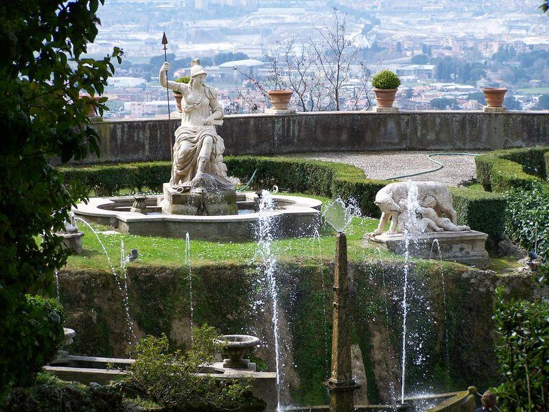 Los jardines mas bellos del mundo pelando el ojo for Jardin villa d este
