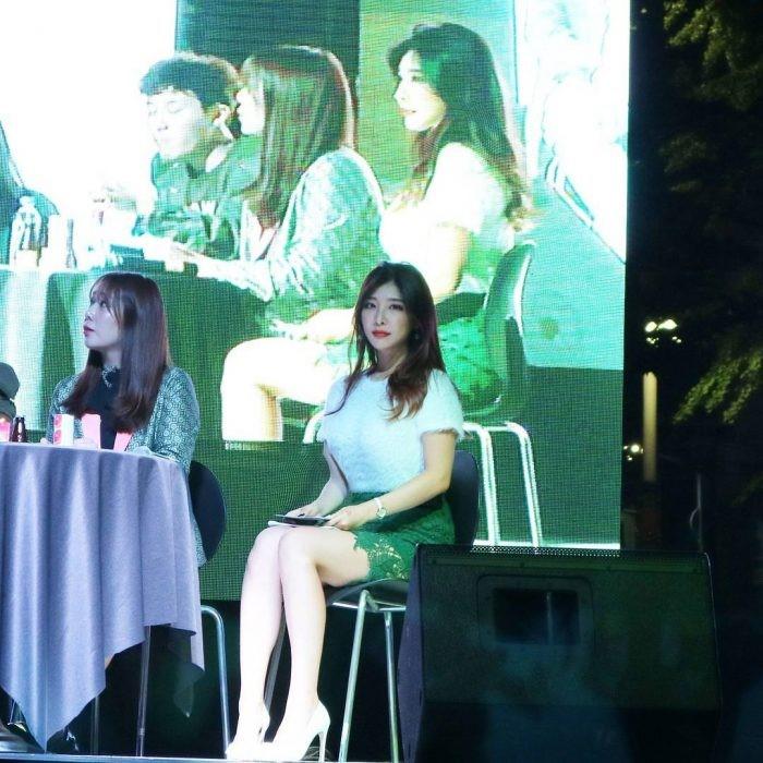 Ella es la conferencista más sexy de Corea del Sur - Pelando El Ojo